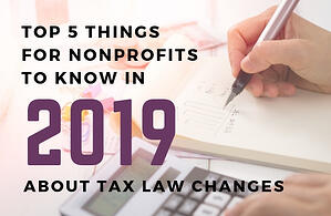 2019 tax law changes
