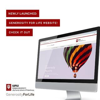 Generosity For Life Website
