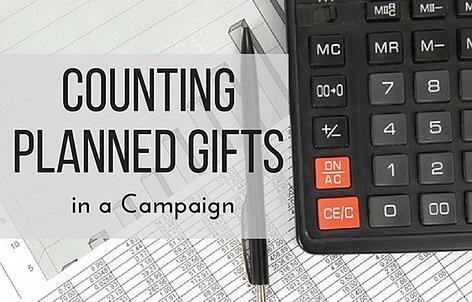 Counting Planned Gifts in a Campaign