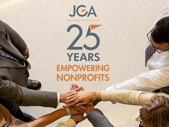 JGA - 25 years empowering nonprofits