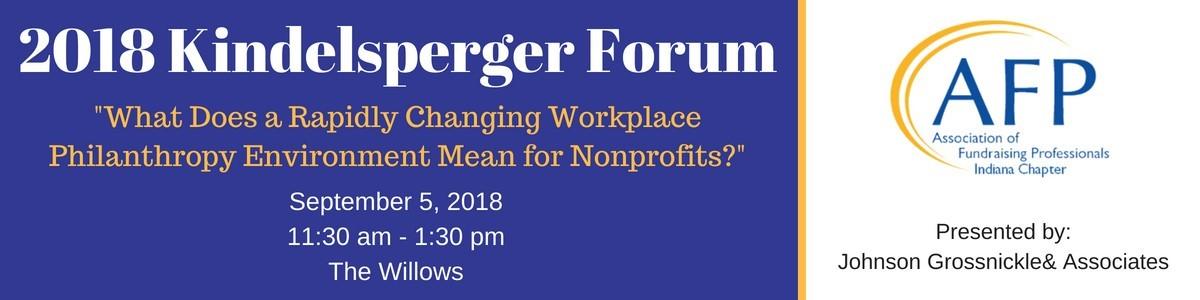 Kindelsperger Forum 2018-1