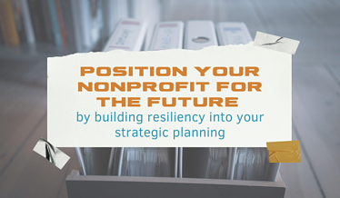 Nonprofit Resiliency and strategic planning Blog