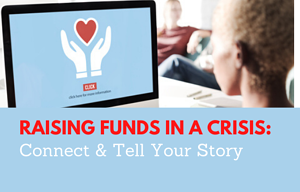 Raising funds in a crisis