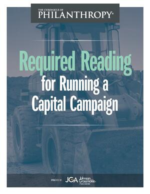 Required Reading for Running a Capital Campaign Cover