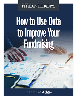 Using Data in Fundraising Cover Photo