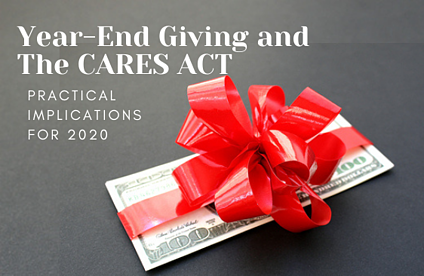 Year-End Giving and The CARES ACT-1